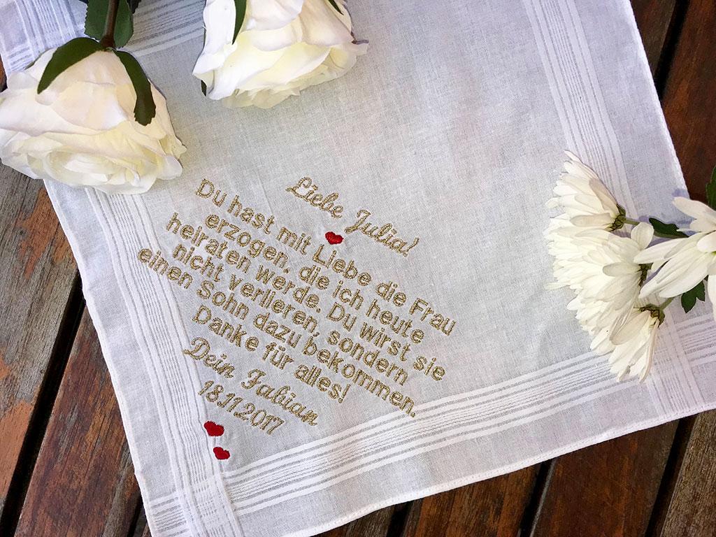 Taschentuch gestreift